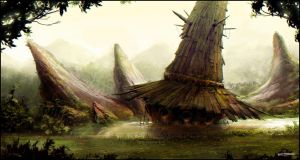 Swamp Mill by dominuself