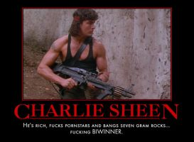 Charlie Sheen Part Deux by MexPirateRed