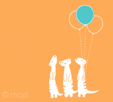 Meerkat Party by mazil