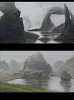 Studies from imagination by Grobelski