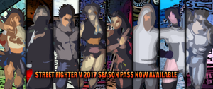 What characters you like to see in SFV DLC 2017? by DENDEROTTO