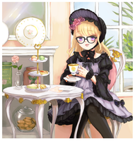 Tea Time by mikimanni