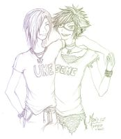 ORIGINAL: DAAR Seme and Uke by Fukai