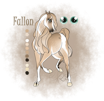 SSR Character Sheet: Fallon by raveniice