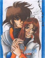 ROBOTECH IN PRISMACOLOR by XtremeMiruka