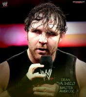 Dean Ambrose - The Shield Master Poster by MarcusMarcel