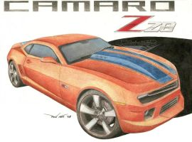 Chevy Camaro Z28 Concept 2 by SeawolfPaul