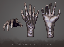 Monster Hand For BadKing's Mega Pack - WIP by eXecutex