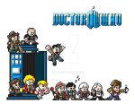 8 bit doctor who by waitedesigns