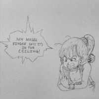 My Magic Finger by unionjake
