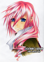 30DoD: Lightning Farron by Chibi-Nuffie