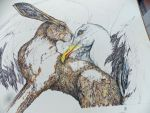 THE HARE AND THE CRY OF THE SEAGULL...Progress by Daicelf