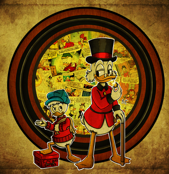 The Life and Times of Scrooge McDuck by Marcotto