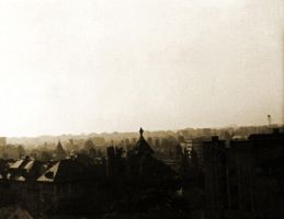 Bucharest In Sepia 1985 by GeneLythgow