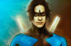 Nightwing by DandyBee