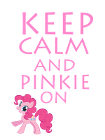 Keep Calm And Pinkie On by Mt80