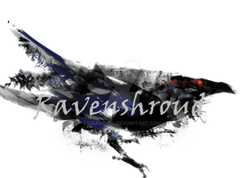 Ravenshroud Guild Banner by LisaGreen