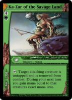 Ka-Zar Magic Card by WoodenOx