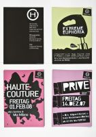 various of flyers for the hitl by gustaf-pinsel
