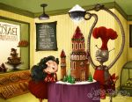 Gingerbread Castle by maina