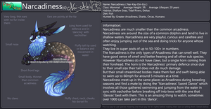 Narcadiness Species Reference Sheet by Nai-Alei