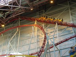 West Edmonton Mall Coaster 2 by Loulou13