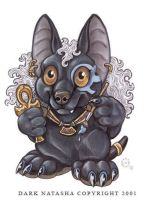 Anubis Chibi by darknatasha
