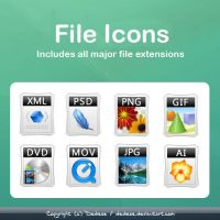 File Icons Pack by Dedese