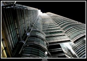 Twin Tower -1- by Maruli786