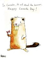 canadian beaver by nicktheartisticfreak
