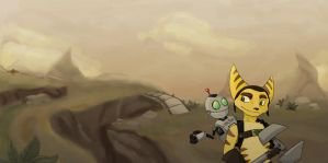 Ratchet and Clank by thewileyside