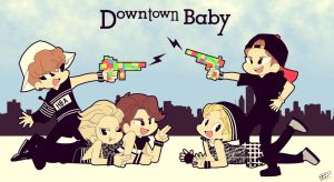 Downtown Baby by Pulimcartoon