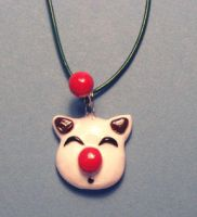 Moogle Necklace by Gimmeswords