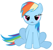Rainbow Dash Wut by Bl1ghtmare