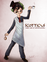 Scotticus God of Sophistication by AngieMyst