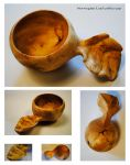 Norwegian leaf cup by JOVictory