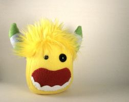 Harold the Monster Plushie by Saint-Angel
