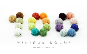 100 MiniPus SOLD by pocket-sushi