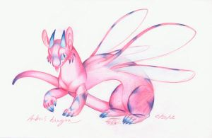 Amber's Fairy Dragon by zirio