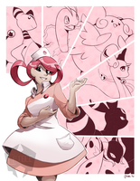 Nurse Joy Natalie by CPTBee