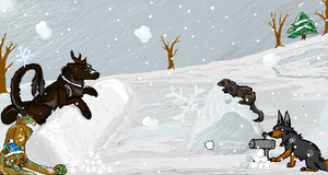 iScribble Collab #2 by Silvadruid