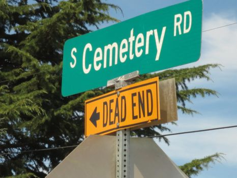 Cemetery Road - Dead End by NinjaMouse4