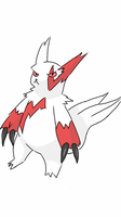 Zangoose COLORED by amauric