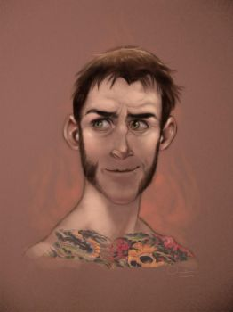 CM Punk by claudiall