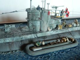 Type VII U-Boat Refit Diorama Conning Tower by Kingtiger2101