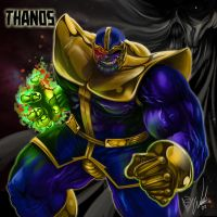 Thanos, The Mad Titan by Wintis