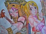 Natsu and Lucy - Fairy Tail by Fresh002