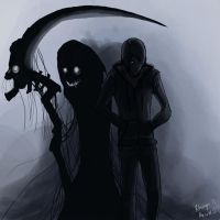 Death Follows Me by Rhunyc