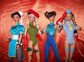 sf barbies by RoxyFett007