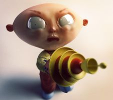 Stewie Griffin by Hankins